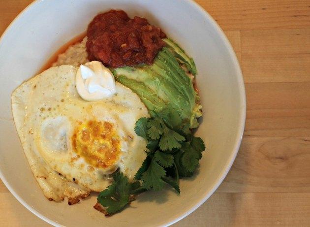Huevos Rancheros Oatmeal