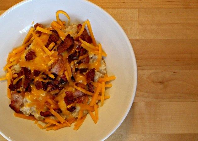Bacon & Cheddar Oatmeal
