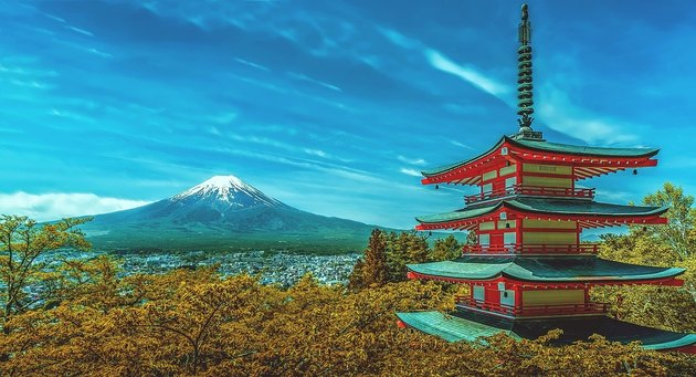 Among the gifts, a 10 days walking tour in Japan