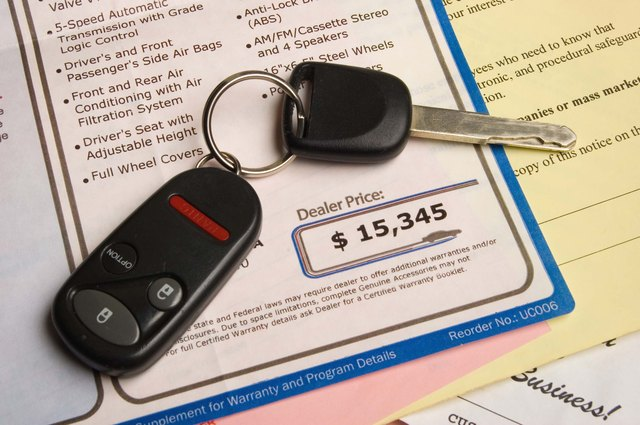 how to get out of an auto loan contract
