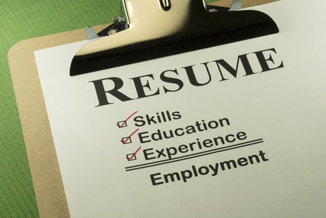 List of Key Strengths on a Resume Sapling